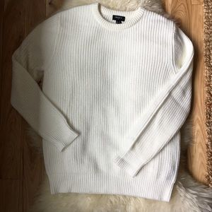 Forever 21 Sweaters - Forever 21 Oversized White Sweater